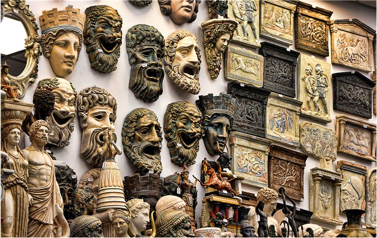 Greek Gods Masks