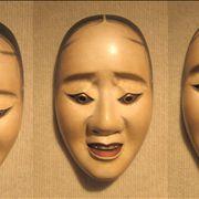 Hawk Noh Mask